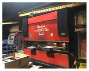 143 TON AMADA MODEL HFE 130-3S 8-AXIS CNC HYDRAULIC PRESS BRAKE