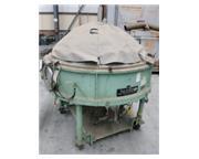 "Jetline #VC-60, 60"" x 13"" Inert Welding Vacuum Chamber, 40 PPM, Plexiglass Dome,"