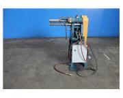 "24 ga. Power beading & crimping machine, 13"" throat, 28 FPM, pneumatic clamping, 1 HP"