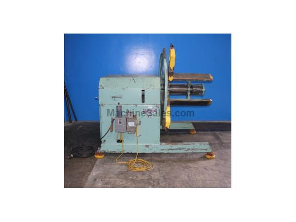 "6000 lb. Coe Press Equipment # CPR-6024 , 24"" wide, manual exp., back plate, #5758, (2) available"