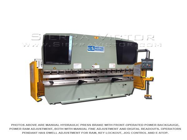 U.S. INDUSTRIAL Hydraulic Press Brake USHB44-6HM
