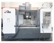 HAAS VF-3SS, 2016, 12,000 RPM, PROBING, 4TH READY, 3,200 HOURS