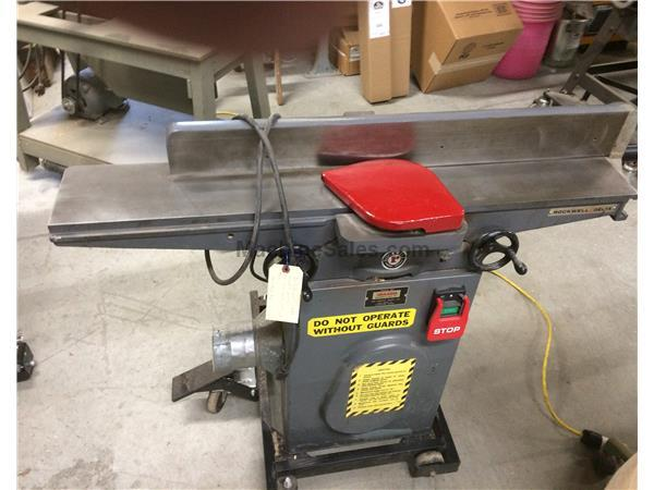 "Delta/Rockwell 6"" jointer"