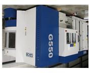 """GROB G-550 5-AXIS UNIVERSAL,31.4""""X,37.4""""Y,40.2"""",10,000-RPM,H"""