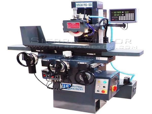 U.S. INDUSTRIAL 2-Axis Automatic Toolroom Surface Grinder USG618S-SD