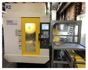 3088, Fanuc Robodrill, D21MiA5, 24,000 RPM CNC, w/Fanuc Robot, 2013