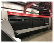 4000 WATT AMADA FLCAJ4020 FIBER LASER W/4020 ASLUL AUTOMATED TOWER MFG:2014
