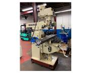 "52"" Table 5HP Spindle Chevalier FM-5VKH VERTICAL MILL, Vari-Speed, #40 Taper, Sony DR"