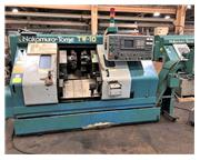 """8.27"""" Swing 6.1"""" Centers Nakamura-Tome TW-10MM CNC LATHE, Fanuc 18TT, 6-Axis, Tw"""