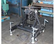 "1600 lb. Miller Thermal # 16000 , 24"" table, variable speed, 0-100 °tilt, #8357HP"