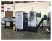 "USED HURCO SLANT BED CNC LATHE TM6i, 2013, 7"" x 14"" travels, 15.8"" B.C."