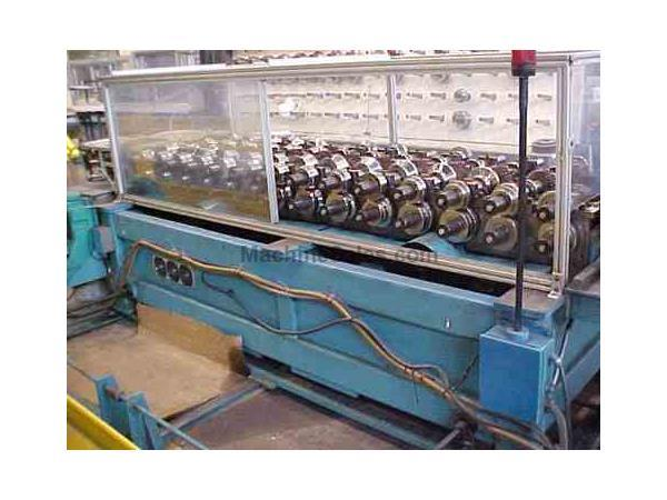 14 Stand x 1-1/2″ T&H Triplex Rollform Line, $39,500