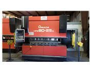 88 Ton Amada HFE8025 Hydraulic Press Brake