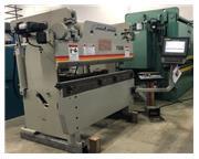 60 TON X 6' ACCURPRESS MODEL:7606 HYDRAULIC PRESS BRAKE W/ ETS-3000 CNC
