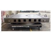 """78"""" x 120"""" Giddings & Lewis Airlift Rotary Table"""