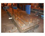 "(2) 63.75"" x 325"" x 12"" T-Slotted Floor Plates"