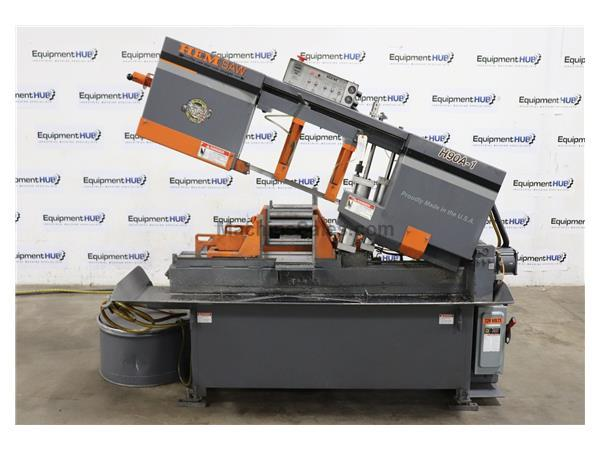 "Hem 12.75"" Fully Automatic Horizontal Band Saw, H90A-1 Pivot Style"