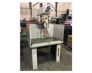 """Clausing 20"""" Variable Speed Drill Press, 2283, 1.25"""" Cap,1hp,6.5&"""