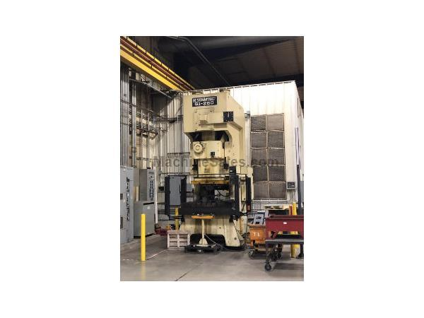 STAMTEC G1-260 GAP FRAME MECHANICAL PRESS, 286 Tons, 2000,  20-40 SPM