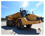 2011 Caterpillar 740 - 40 Ton - 6x6 - Cab w/ A/C & Heat - E7217