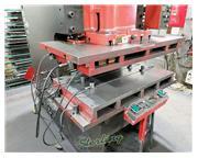 "165 Ton, Amada # TP150-EX , 6.89"" str, 30-55 SPM, 3.93"" slide adj., 21.65"""