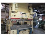 """90 Ton, Cincinnati # 90AF6 , CNC hydraulic, 8' OA78.5"""" BH, Adaptive Autoform 6-Ax BG,"""