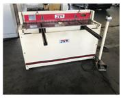 "JET 52"" X 16 GAUGE PNEUMATIC SHEAR PS-1652T,2014,40 SPM,2 supp arms, 2"