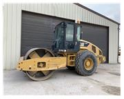 2009 Caterpillar CS-563E w/ Smooth Drum - Stock Number: E7208