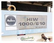 "6"" x 6"" x 5/8"" Mubea # HIW1000/610 , 110 ton, heavy duty, punches & dies, b"