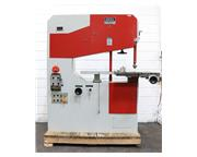 "41"" Throat 13"" Height Dake-Johnson V-40 VERTICAL BAND SAW, Vari-Speed, 2HP, Blad"