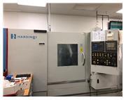 """22.44"""" Swing Hardinge SR-150MSY CNC LATHE, Fanuc i Series, C Axes, LNS QL Servo 65"""