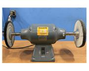 0.75HP Motor 2Hd Heads Baldor 333B BUFFER POLISHER, Like New