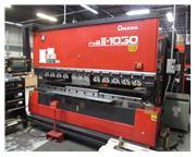 Amada FBDIII-1030-NT 110 Ton 7-Axis CNC Upacting Hydraulic Press Brake