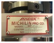 Sandox Michilin Pro. Co. MP350, Punch Former  Radius Wheel Dresser GRINDER ATTACHMENT
