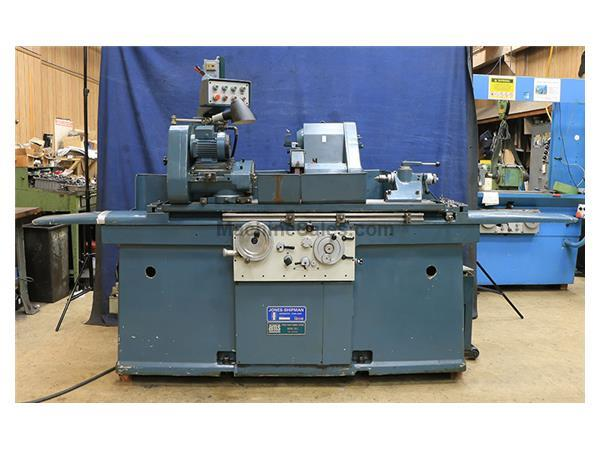 "10"" Swing 40"" Centers Jones  Shipman 1305-EIU, NEW 1975, SWING AROUND I.D., OD GRINDER, HYD. TABLE, AUTO INFEED, PLUNGE"