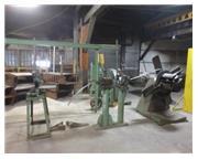 """7000 lb. Tishken # HXR-12-REEL , coil reel, 15"""" width, 65"""" OD, 20"""" ID, #689"""