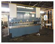"99 Ton, Durma # E-3090 , CNC 4-Axis hyd brake, 10' OA, 100"" BH, 6.3"" str, 10HP,"
