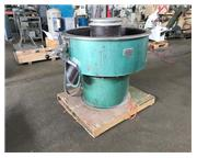 "10 Cu Ft Sweco Vibratory Finisher, Model FM-10-7, 44-3/4"" Round Bowl,"
