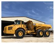 2006 VOLVO A35D W/ ENCLOSED CAB W/ A/C & HEAT - E7138