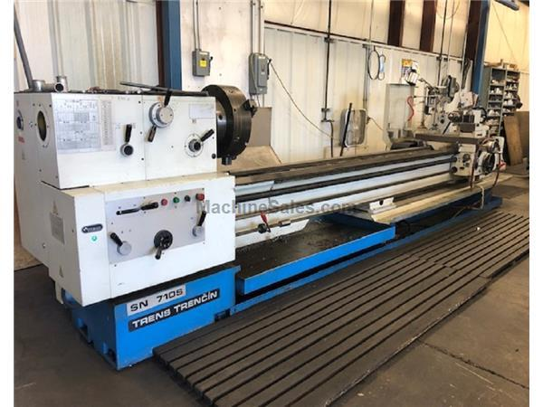 "2005 TOS MODEL SN710S/4000 UNIVERSAL CENTER GAP BED LATHE, 28"" X 160&q"
