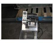 "Fenwal # 6300 , Thermocouple rubber heat sealer, 3"" x 6"" heated platen, 800°F, c"