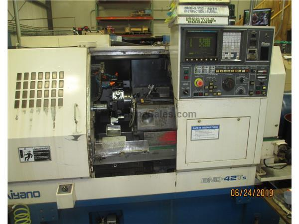 1998 Miyano BND-42T5 Turning Center with Second Turret