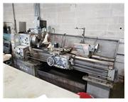 "Used Mazak 18"" x 60"" Inch/Metric Gap Bed Engine Lathe"