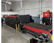 AMADA LCG 3015 CO2 3,500W LASER,2014,5'x10',Dual shuttle table,Amad