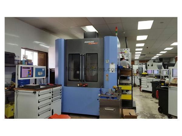 2008 Doosan HP-5500 CNC Horizontal Machining Center