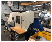 2002 Daewoo Puma 2000SY CNC Turning Center w/ LNS Quick Load Barfeed