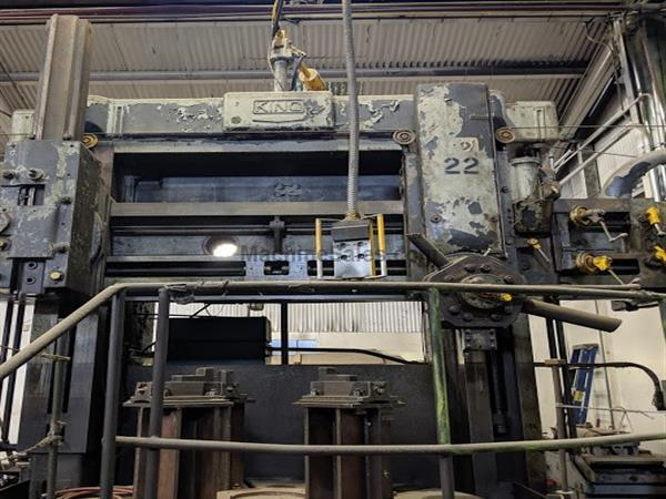 "84"" KING VERTICAL TURRET LATHE"