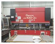 110 Ton Amada HFE 100-3S CNC Press Brake