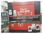 88 Ton Amada HFE 80-25S CNC Press Brake