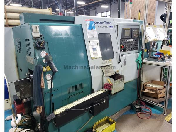 2005 Nakamura-Tome SC-250 Live Tool, Sub-Spindle CNC Turning Center